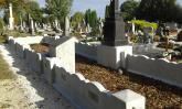 Hadisír a katolikus temetőben felújítva